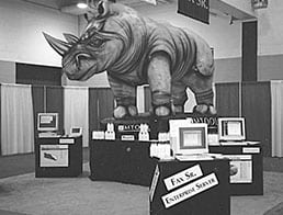 Inflatable Rhino